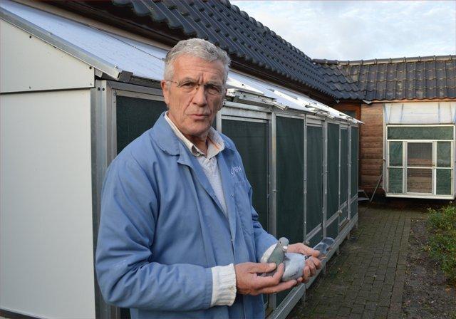 Rens  van der Zijde with his  'Evita'...