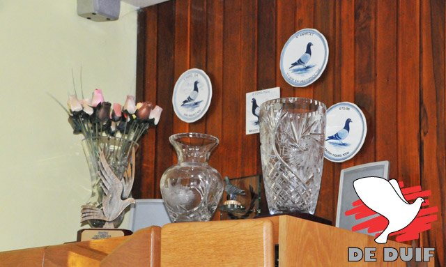 Part of the trophy cabinet...